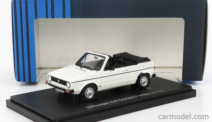 AVENUE43 ATC60054 Scale 1/43  VOLKSWAGEN GOLF CABRIOLET PROTOTYPE GERMANY 1976 WHITE