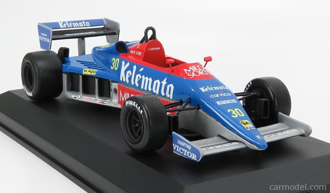 CP-MODEL CPBM003 Masstab: 1/18  OSELLA F1  FA/1E N 30 ITALY IMOLA GP 1984 J.GARTNER LIGHT BLUE