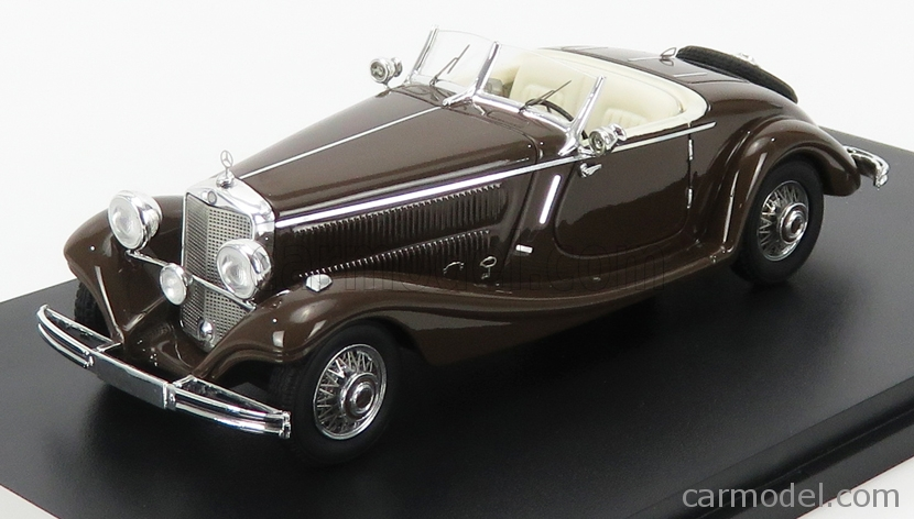 NEO SCALE MODELS NEO45013 Scale 1/43  MERCEDES BENZ TYPE 290 (W18) ROADSTER 1936 BROWN