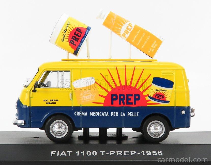 EDICOLA VCDE017 Echelle 1/43  FIAT 1100T VAN PREP 1958 BLUE YELLOW