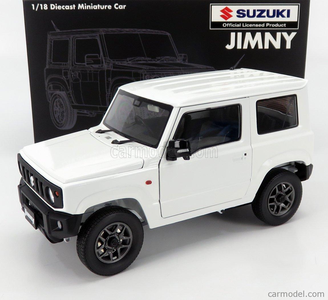 BM-CREATIONS BM18B0017 Scale 1/18  SUZUKI JIMNY JB64 LHD 2018 WHITE