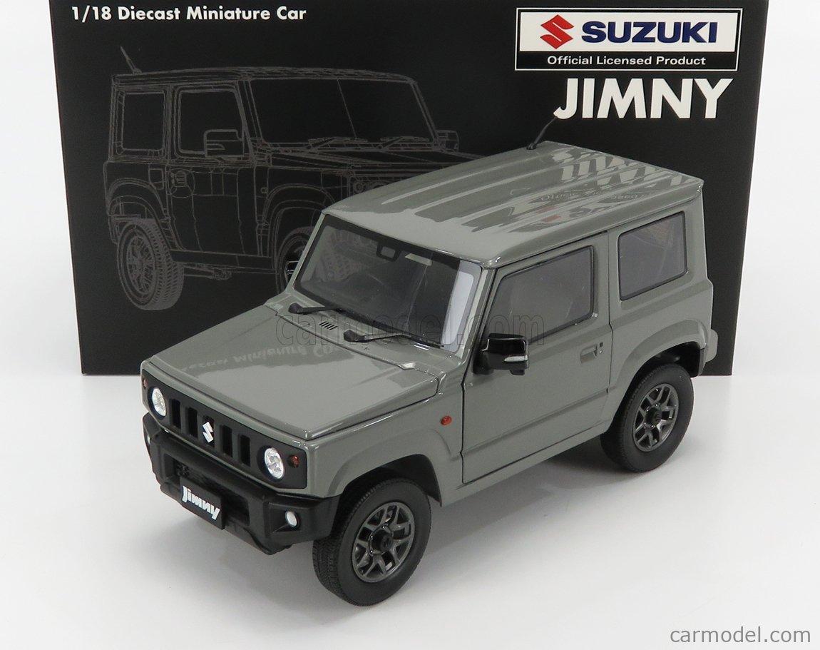 BM-CREATIONS BM18B0016 Scale 1/18  SUZUKI JIMNY JB64 LHD 2018 MEDIUM GREY