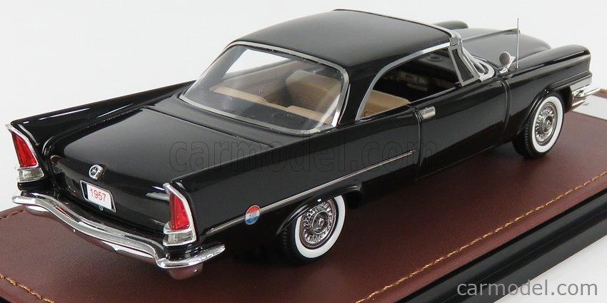 GLM-MODELS GLM130701 Masstab: 1/43  CHRYSLER 300C HARD-TOP CLOSED 1957 BLACK