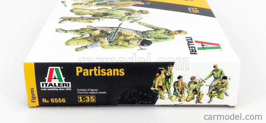ITALERI IT6556 Масштаб 1/35  FIGURES SOLDATI - PARTISAN SOLDIERS /