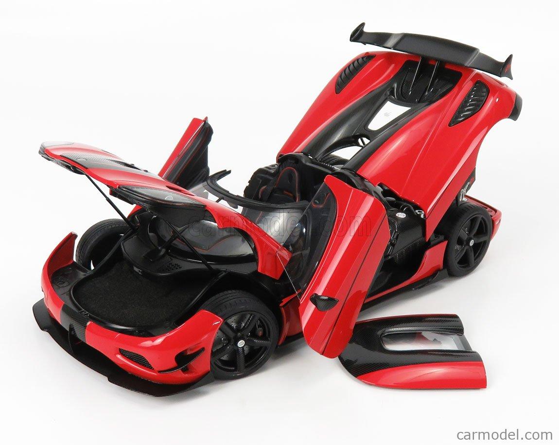 AUTOART 79022 Масштаб 1/18  KOENIGSEGG AGERA RS 2015 RED MET