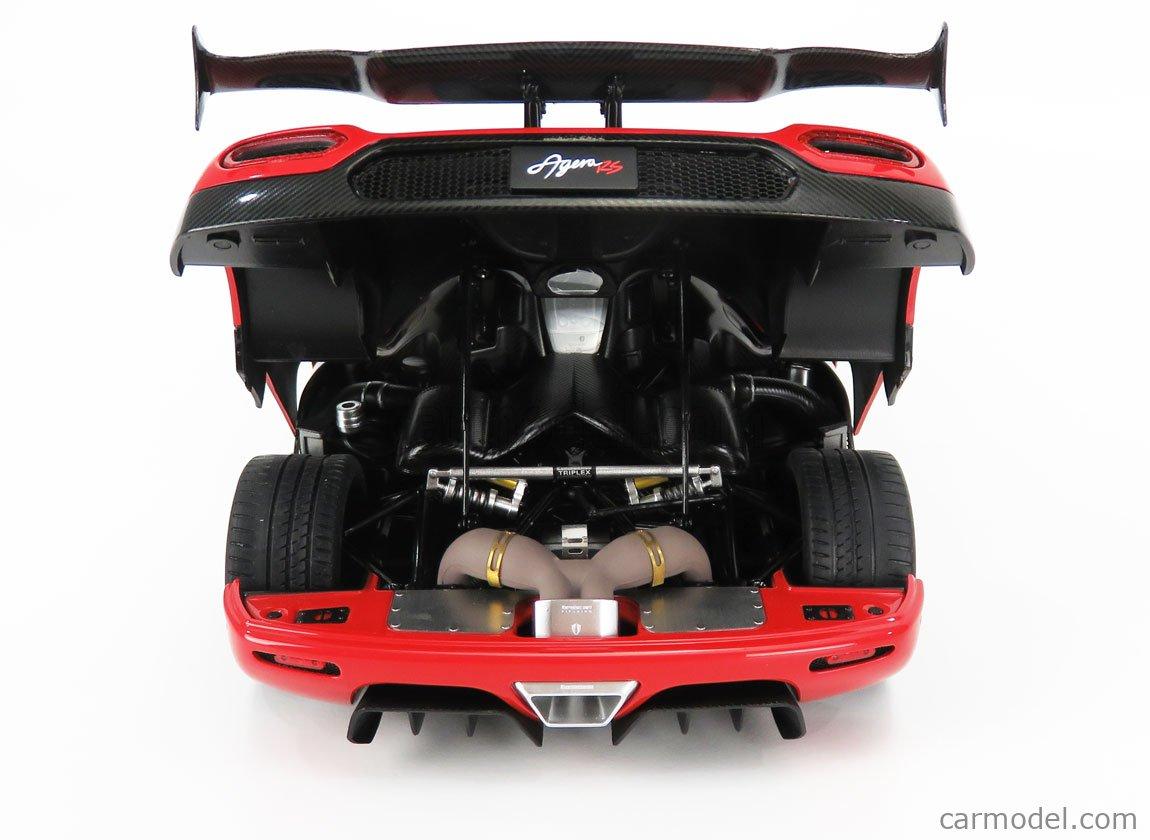 AUTOART 79022 Echelle 1/18  KOENIGSEGG AGERA RS 2015 RED MET