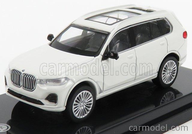 PARAGON-MODELS PA-55192L Scale 1/64  BMW X7 (G07) LHD 2019 WHITE