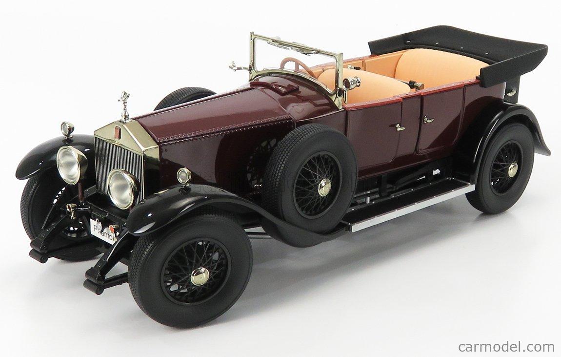 KYOSHO 08931R Echelle 1/18  ROLLS ROYCE PHANTOM I CABRIOLET 1926 BURGUNDY RED