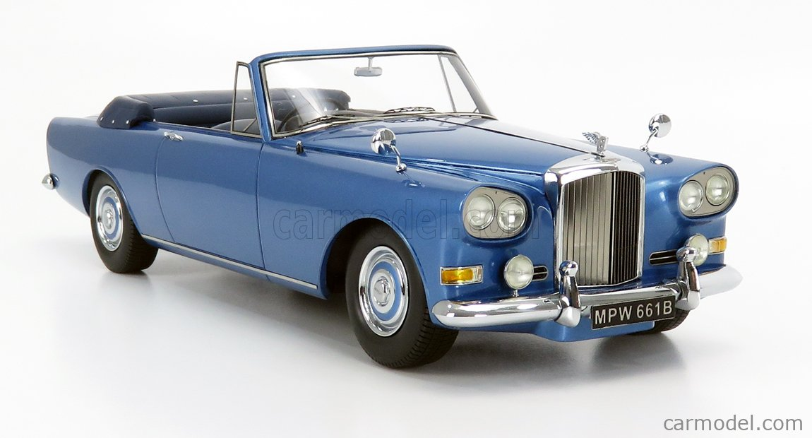 NEO SCALE MODELS NEO18105 Scale 1/18  BENTLEY SIII CONTINENTAL MULLINER PARK WARD CONVERTIBLE 1965 LIGHT BLUE MET