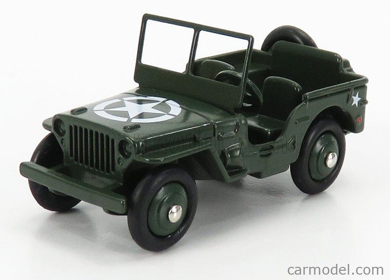 EDICOLA 153A Masstab: 1/43  JEEP WILLYS OPEN 1945 MILITARY GREEN