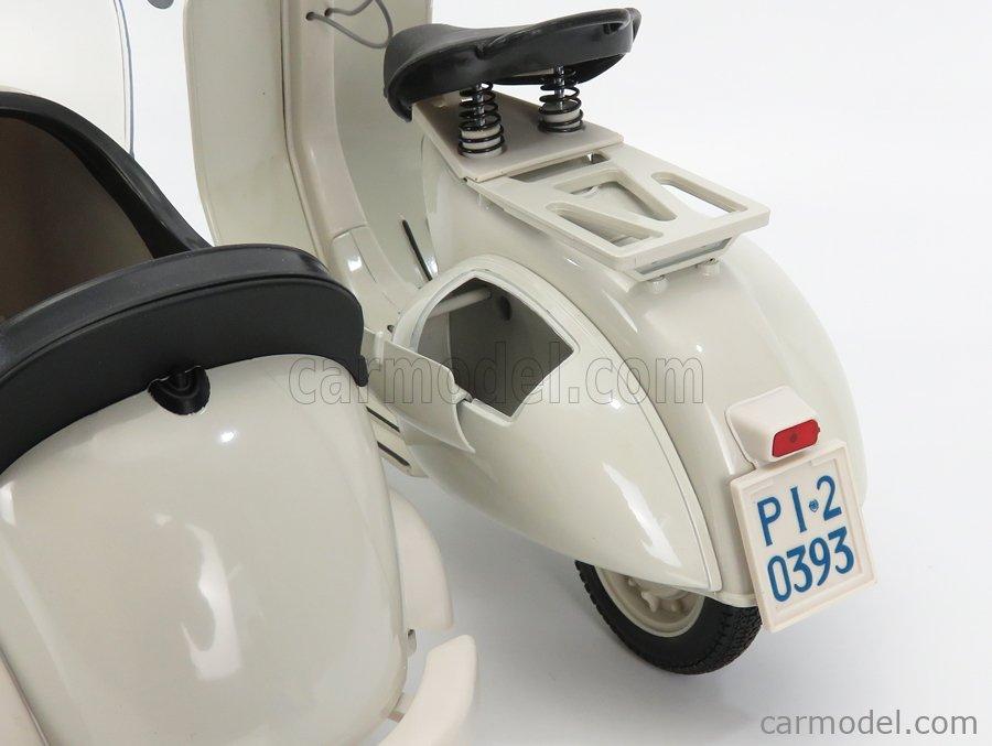 NEWRAY 48993 Masstab: 1/6  PIAGGIO VESPA 150 VL1T - STRUZZO - WITH SIDECAR 1955 IVORY