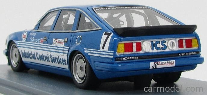 NEO SCALE MODELS NEO45585 Scale 1/43  ROVER  VITESSE TEAM ICS N 7 BRITISH SALOON CAR CHAMPIONSHIP 1984 ANDY ROUSE BLUE WHITE