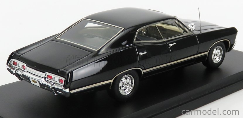 TRUESCALE TSM114331 Masstab: 1/43  CHEVROLET IMPALA SPORT SEDAN 1967 BLACK