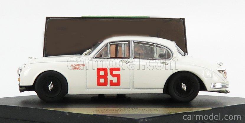 VITESSE L191B Scale 1/43  JAGUAR MKII 3.8 N 85 RALLY TOUR DE FRANCE 1961 B.CONSTEN - J.RENEL WHITE