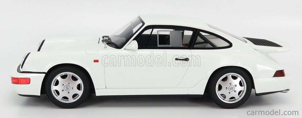 GT-SPIRIT GT319 Escala 1/18  PORSCHE 911 964 CARRERA 4 LIGHT WEIGHT 1991 WHITE