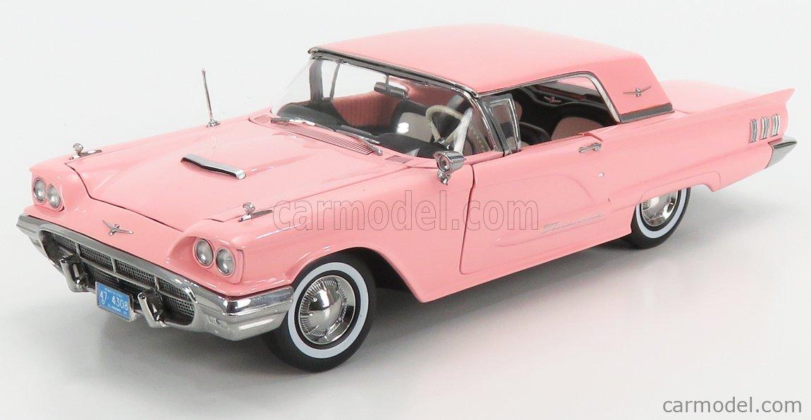 Ford Thunderbird Hard Top 1960 pink Modellauto 1:18 Sun Star