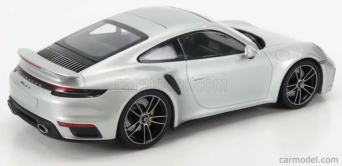 MINICHAMPS WAP02117A0L001 Scale 1/18  PORSCHE 911 992 TURBO S COUPE 2020 SILVER