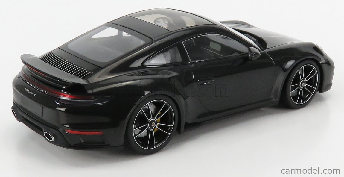 MINICHAMPS WAP02117B0L002 Scale 1/18  PORSCHE 911 992 TURBO S COUPE 2020 DEEP BLACK MET