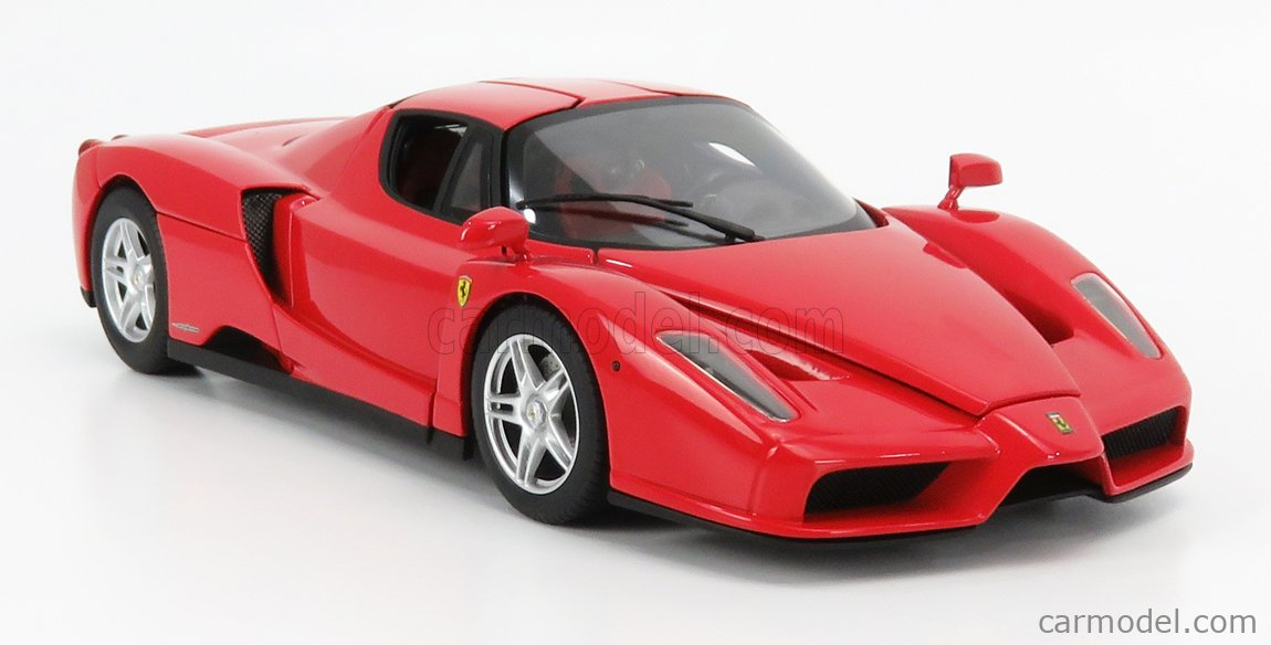 MATTEL HOT WHEELS J2919-0510 Scale 1/18  FERRARI ENZO 2002 RED