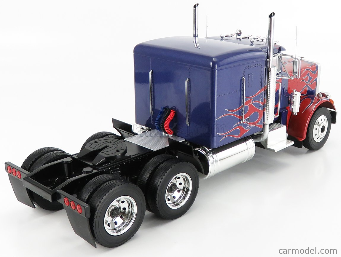 ROAD-KINGS RK180083 Scale 1/18  PETERBILT 359 TRACTOR TRUCK 3-ASSI 1967 BLUE RED