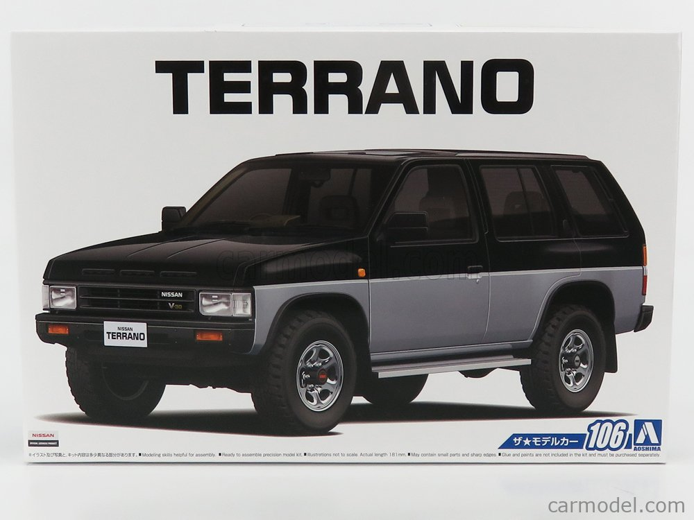 AOSHIMA-KIT 05708 Scale 1/24  NISSAN TERRANO R3M 1991 /
