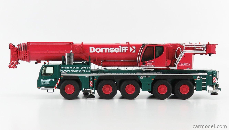 NZG 959/04 Scale 1/50  LIEBHERR CRANE TRUCK LTM 1250-5.1 - GRUE AUTOMOTRICE - MOBILKRAN - CRANE GREEN RED