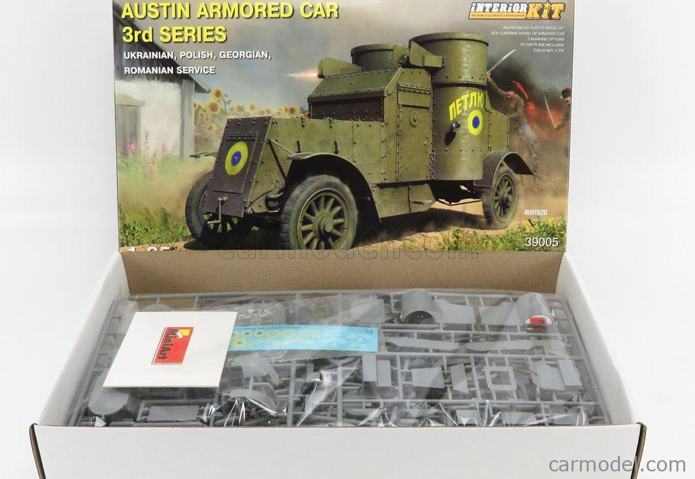 MINIART 39005 Echelle 1/35  AUSTIN ARMORED CAR 3-SERIES MILITARY 1914 /