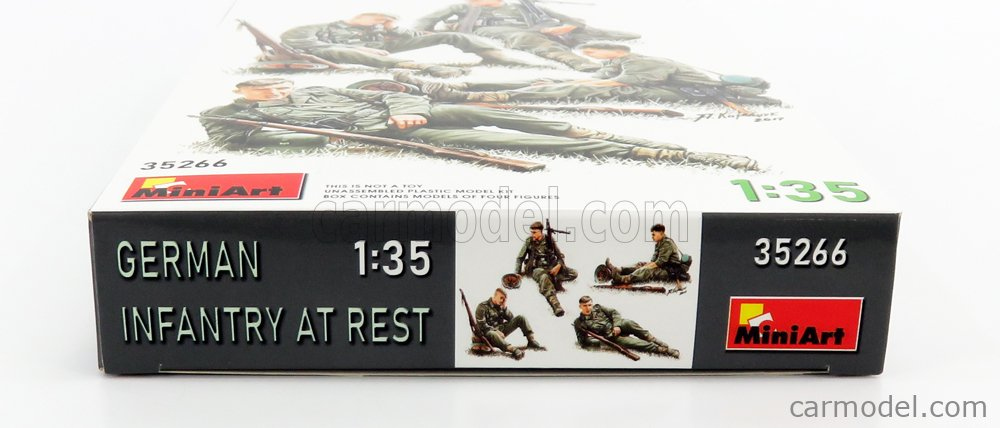 MINIART 35266 Echelle 1/35  FIGURES SOLDATI - SOLDIERS MILITARY GERMAN INFANTRY AT REST /