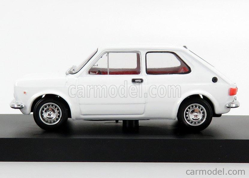 BRUMM R605-02 Масштаб 1/43  FIAT 127 1 SERIES 3-DOOR 1972 BIANCO - WHITE