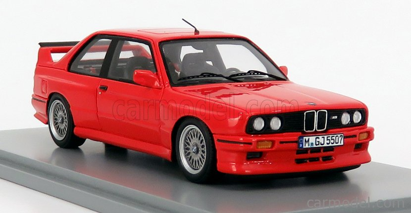 SPARK-MODEL S8003 Masstab: 1/43  BMW 3-SERIES M3 (E30) SPORT EVOLUTION 1988 RED