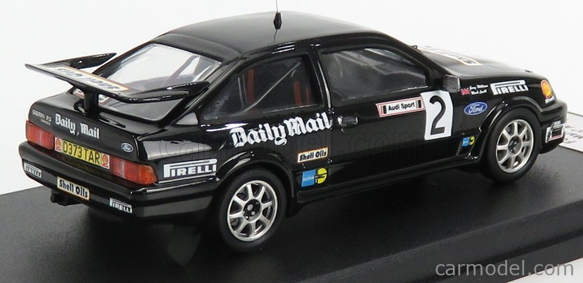 TROFEU TRRUK51 Scale 1/43  FORD ENGLAND SIERRA RS COSWORTH N 2 RALLY AUDI SPORT 1987 M.LOVELL - M.BROAD BLACK