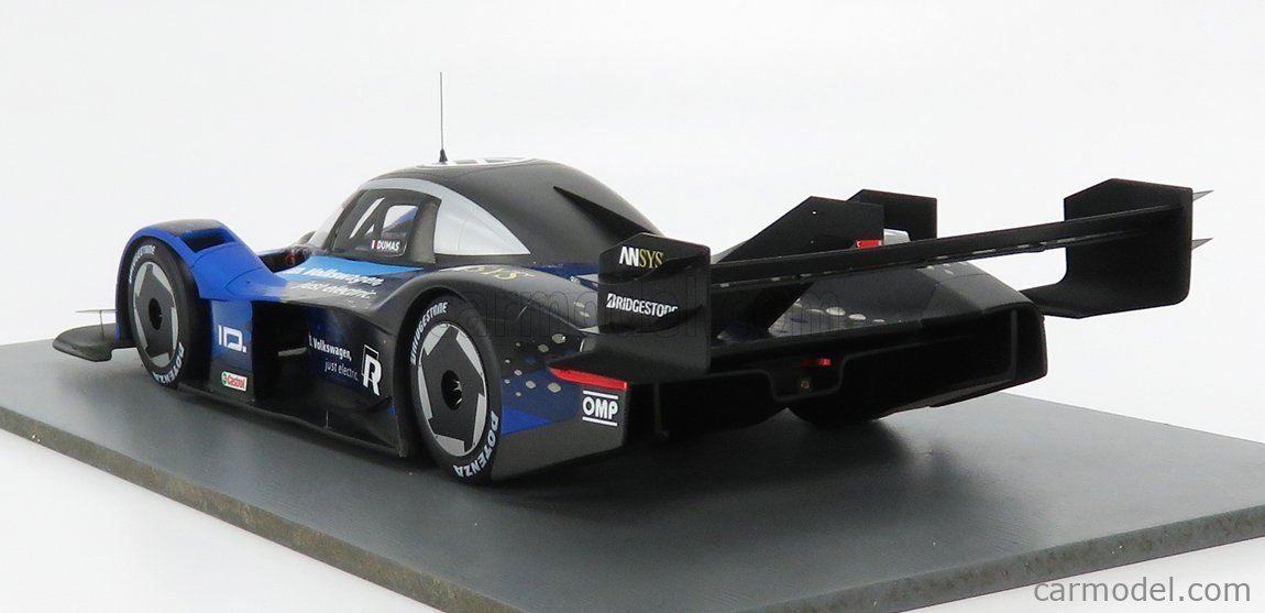 Volkswagen VW ID.R Romain Dumas Volkswagen Motorsport 1:18 Spark 18S507 NEU