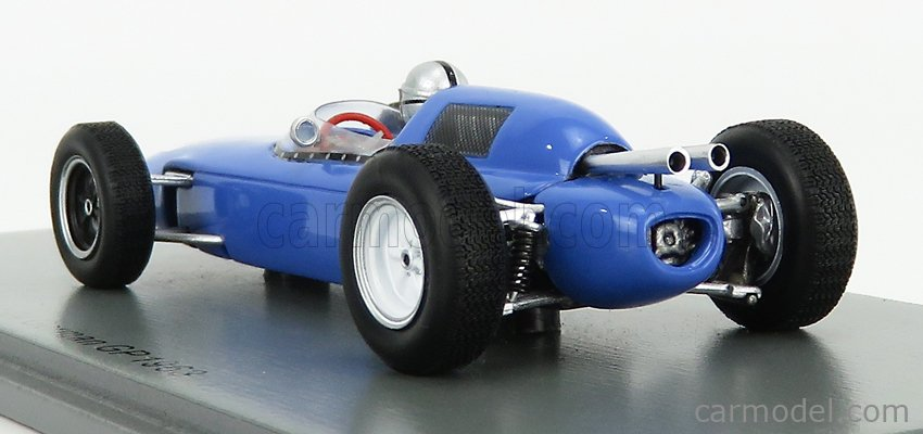 SPARK-MODEL S7292 Scale 1/43  LOTUS F1  24 N 28 GERMAN GP 1963 B.COLLOMB LIGHT BLUE