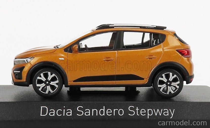 NOREV 509030 Scale 1/43  DACIA SANDERO STEPWAY 2021 ATACAMA ORANGE