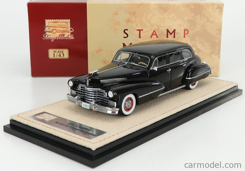 STAMP-MODELS STM42801 Scale 1/43  CADILLAC SERIES 67 1942 BLACK
