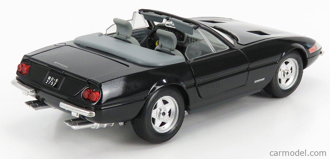 GIODI 40028 Масштаб 1/18  FERRARI 365 GTS/4 DAYTONA SPIDER OPEN 1969 - MIAMI VICE BLACK