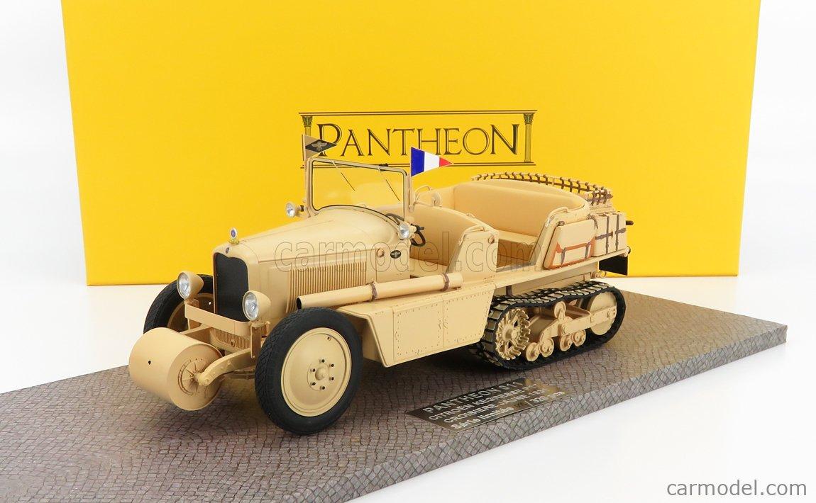 PANTHEON PANTHEON011 Scale 1/18  CITROEN P17 KEGRESSE CROISIERE JAUNE SEMICINGOLATO 1931 MILYARY SAND