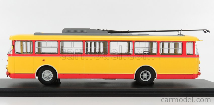 START SCALE MODELS SSM4041 Scale 1/43  SKODA 9TR AUTOBUS 1961 YELLOW RED