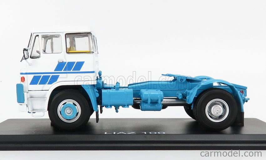 START SCALE MODELS SSM1423 Scale 1/43  LIAZ 100 TRACTOR TRUCK 2-ASSI 1992 WHITE LIGHT BLUE