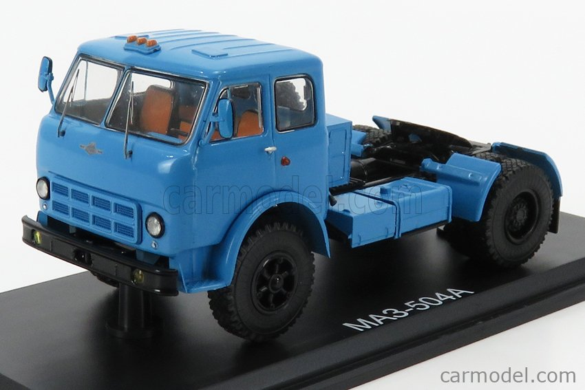 START SCALE MODELS SSM1417 Echelle 1/43  MAZ 504A TRACTOR TRUCK 2-ASSI 1958 LIGHT BLUE