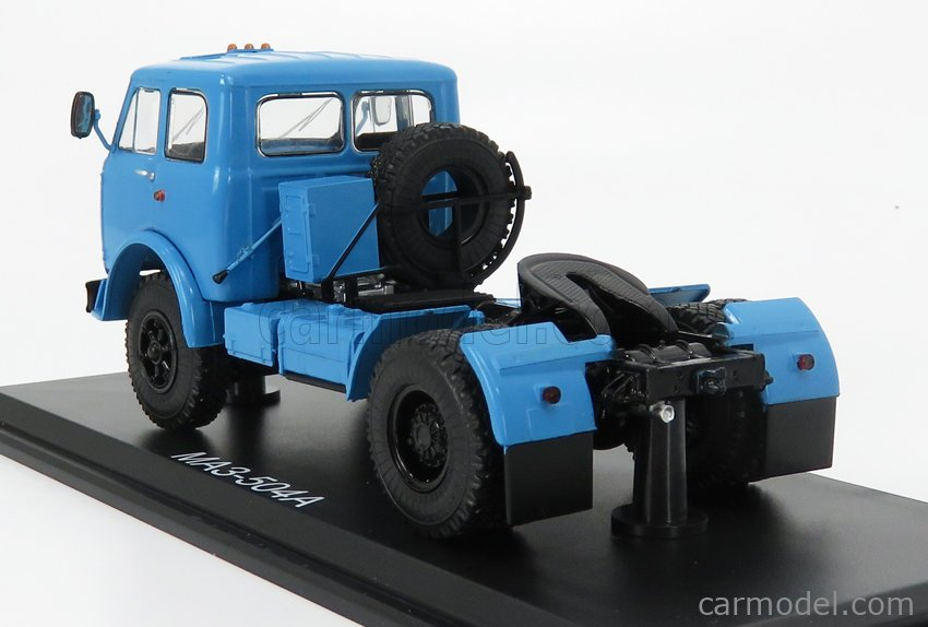 START SCALE MODELS SSM1417 Scale 1/43  MAZ 504A TRACTOR TRUCK 2-ASSI 1958 LIGHT BLUE