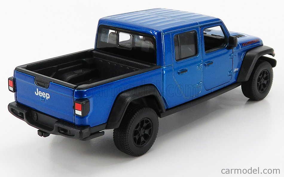 WELLY WE24103B Masstab: 1/24  JEEP RUBICON PICK-UP 2019 BLUE