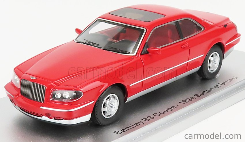 KESS-MODEL KE43043022 Scale 1/43  BENTLEY B3 COUPE - SULTAN OF BRUNEI - 1994 RED