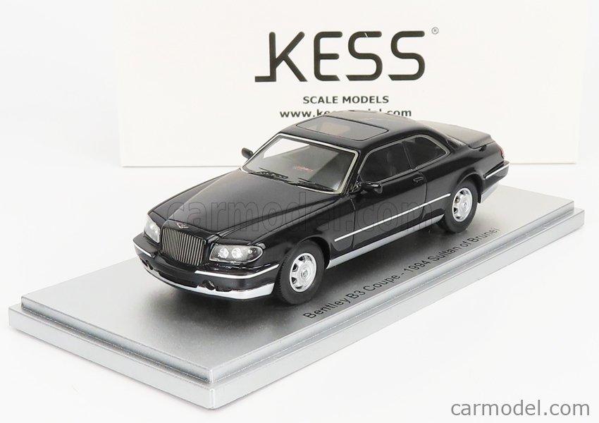 KESS-MODEL KE43043021 Scale 1/43  BENTLEY B3 COUPE - SULTAN OF BRUNEI - 1994 BLACK MET