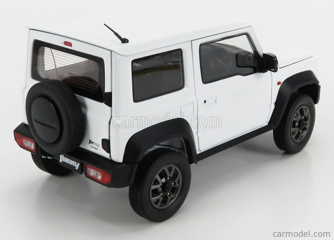 BM-CREATIONS BM18B0014 Scale 1/18  SUZUKI JIMNY SIERRA RHD 2018 WHITE