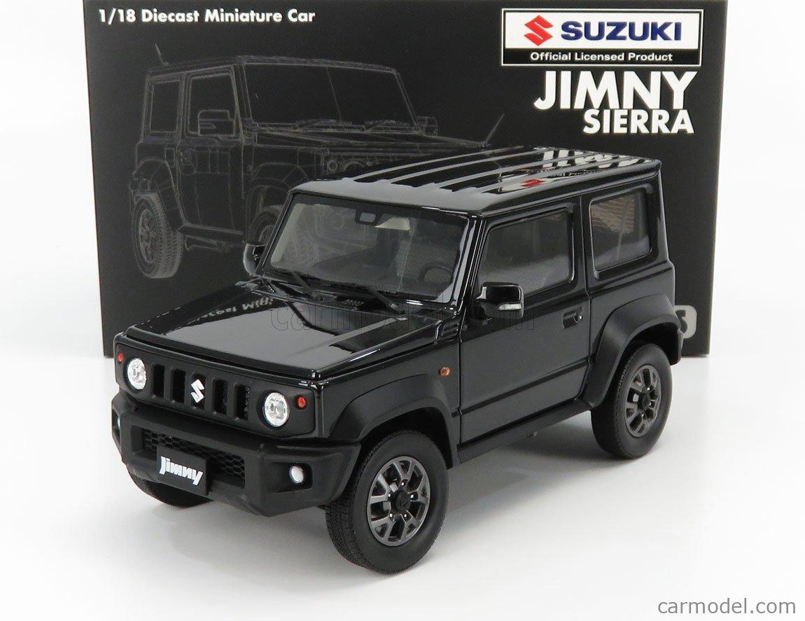 BM-CREATIONS BM18B0011 Scale 1/18  SUZUKI JIMNY JB74 LHD 2018 BLACK