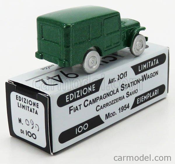 Fiat Campagnola Sw Stat.Wagon Carrozzeria Savio 1954 OFFICINA-942 1:76 ART2013B