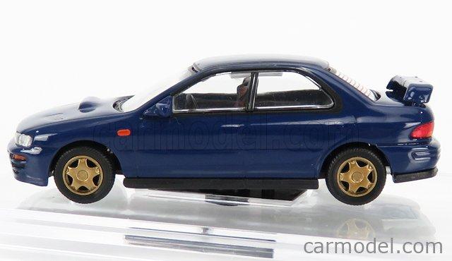 BM-CREATIONS BM64B0059 Scale 1/64  SUBARU IMPREZA WRX LHD 1994 BLUE