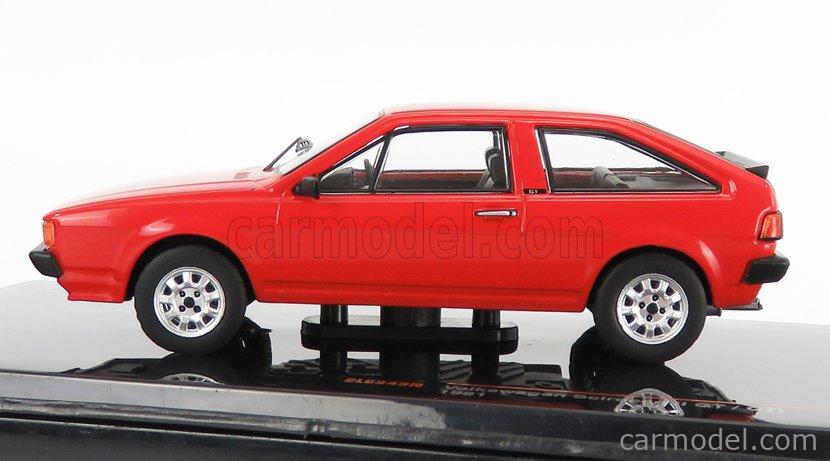 IXO-MODELS CLC349N Scale 1/43  VOLKSWAGEN SCIROCCO MKII 1987 RED