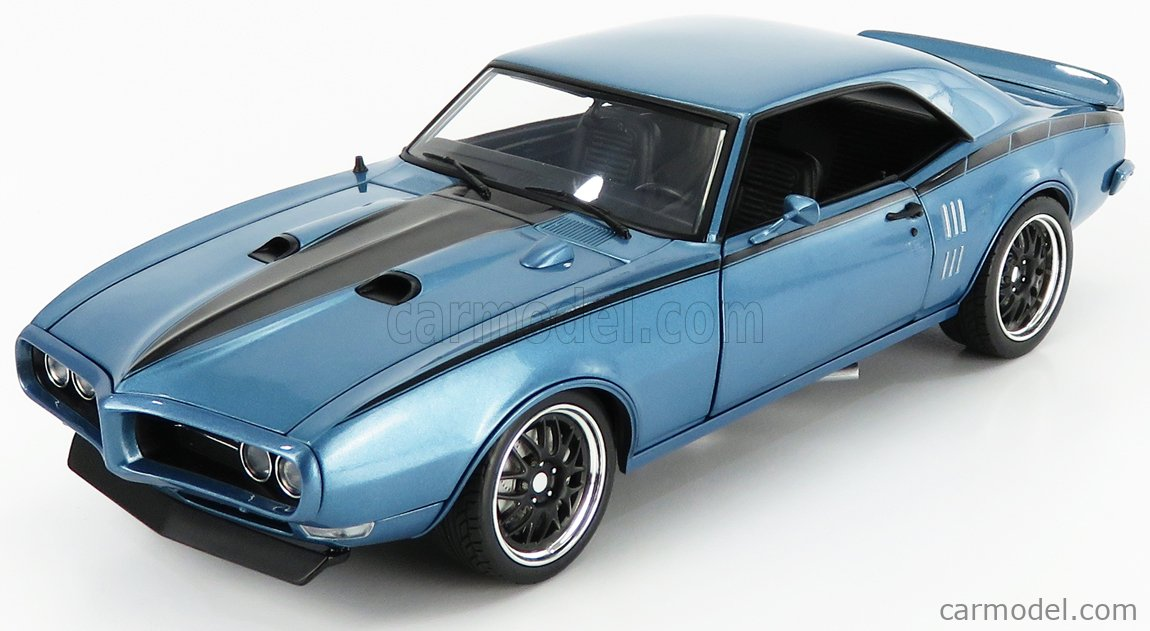 ACME-MODELS A1805211 Scale 1/18  PONTIAC FIREBIRD STREET FIGHTER COUPE 1968 LUCERNE BLUE MET